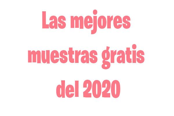 Muestras gratis 2020